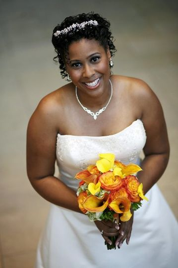 MG Beauty, LLC Client - T. BrownWedding 10/07 Makeup Artistry