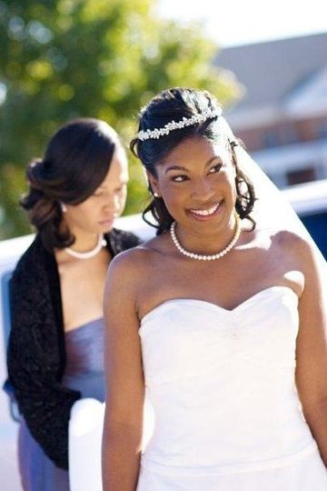 MG Beauty, LLC Client - T. TurnerWedding 11/07 - Makeup Artistry