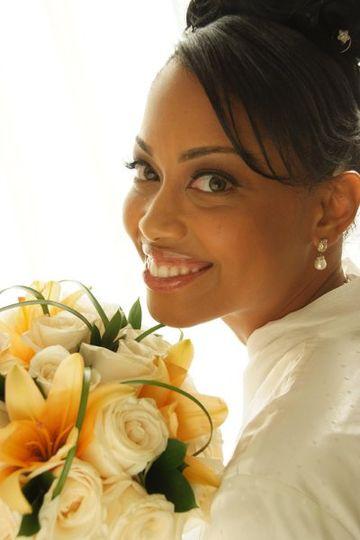 MG Beauty, LLC Client - T. Orr Wedding 10/08 Hair & Makeup