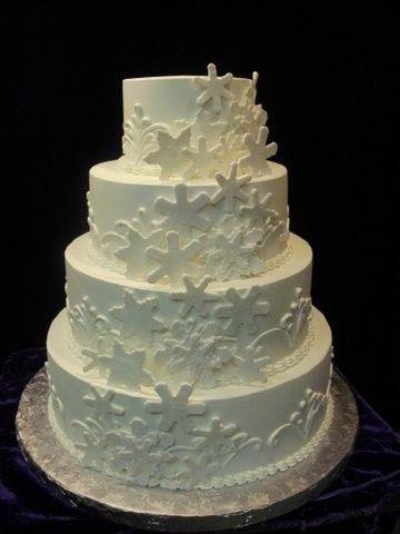 round, winter wedding, snowflakes, white