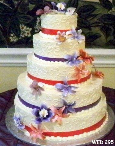 Tmx 1493998814121 Alternating Ribbon Colors Sterling, VA wedding cake