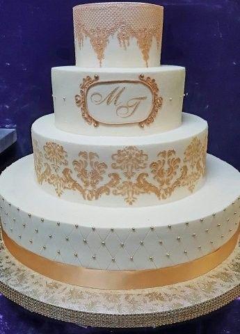 Tmx 1513004393062 Goldwhitecake Sterling, VA wedding cake