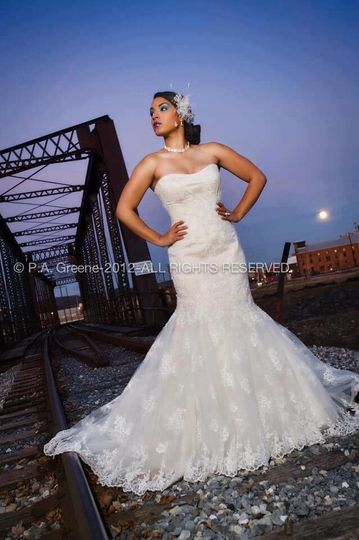 Be a Fashionista Bride.