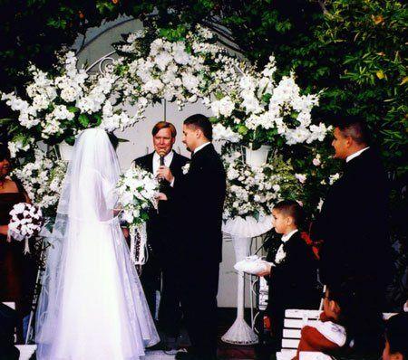 Garden Courtyard wedding
