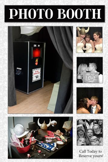 new photo booth montage 2014 black