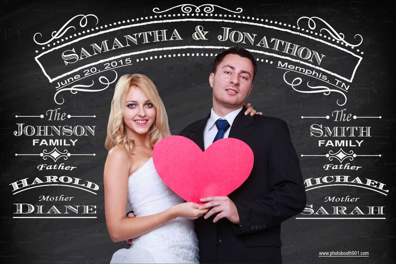 wedding chalkboard sample 1