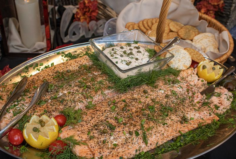 Herb Roasted Fillet of Salmon
