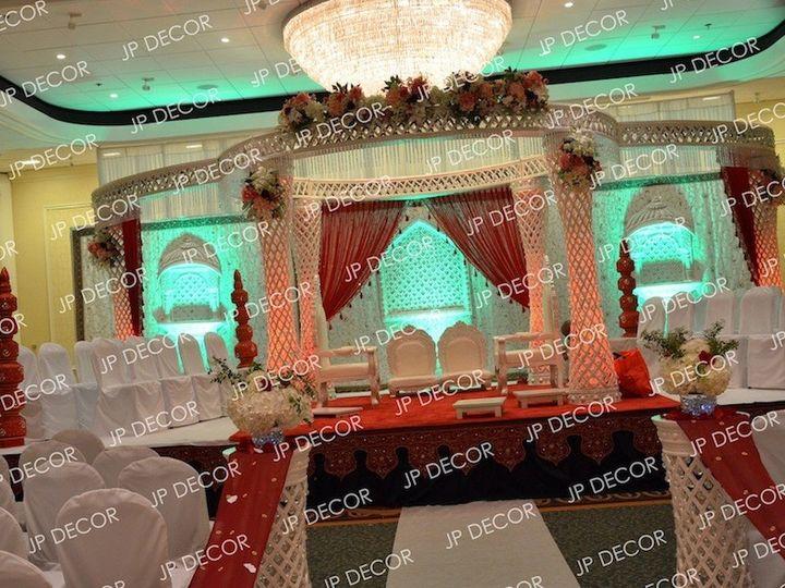 Tmx 1402891081603 Jpdecor Pallazo Mandap 2 South Plainfield, NJ wedding eventproduction