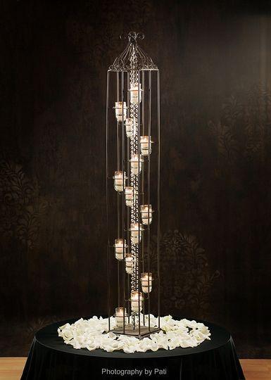 Eye-catching candle display
