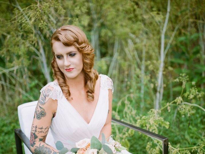 Tmx 1440171524630 Natalie In Chair Louisville, Kentucky wedding beauty