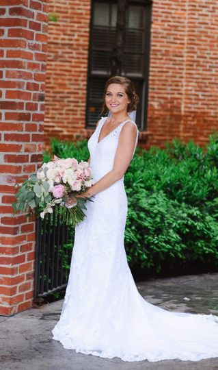 Maggie Sottero sleeveless gown