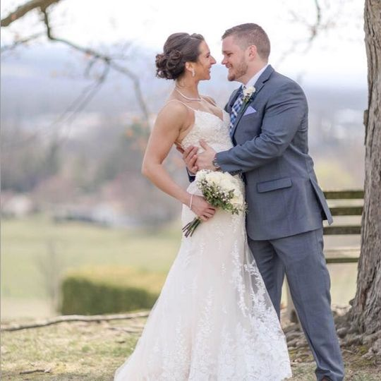 Newlyweds | Gown: Maggie Sottero