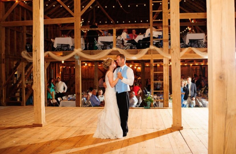 First dance as man and wife