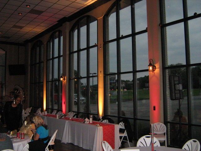 Wedding reception main table