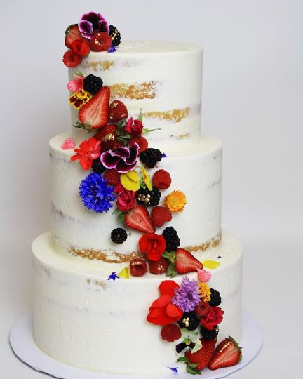 Floral and Berry Cascade