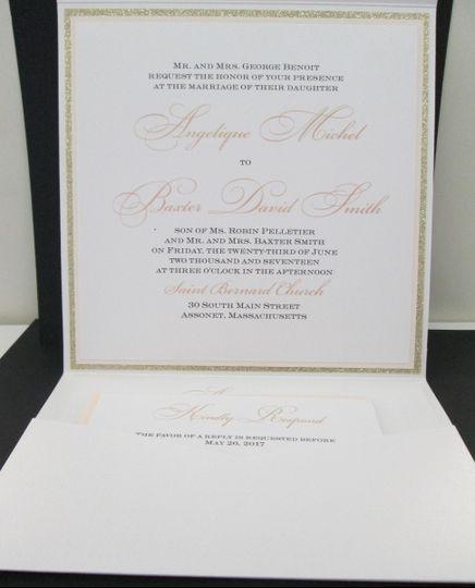 Emerald Invitations - Invitations - Quincy, MA - WeddingWire