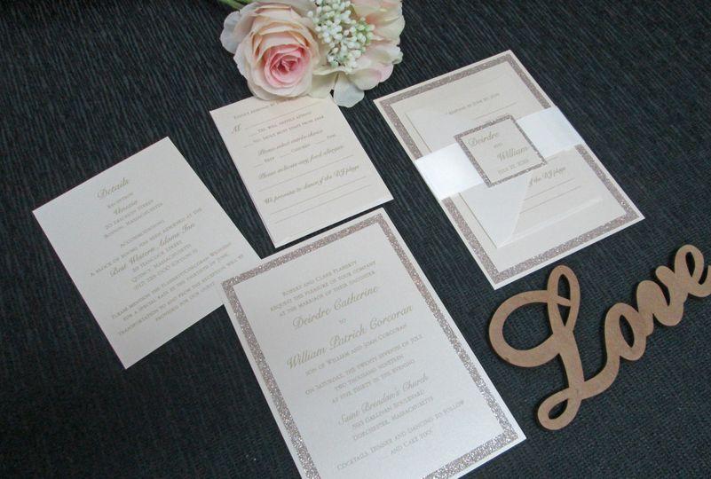 Triple layer invitation