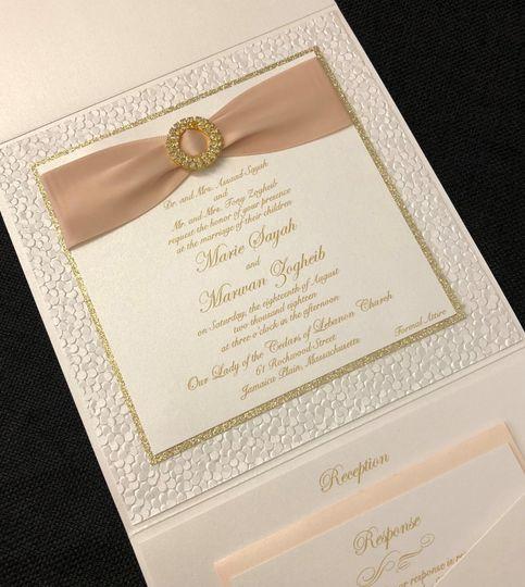 Emerald Invitations
