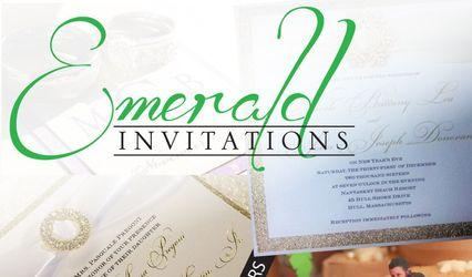 Emerald Invitations 1