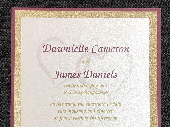 Tmx Cameron 3 Layer 7 20 19 51 108208 1572545631 Quincy, MA wedding invitation