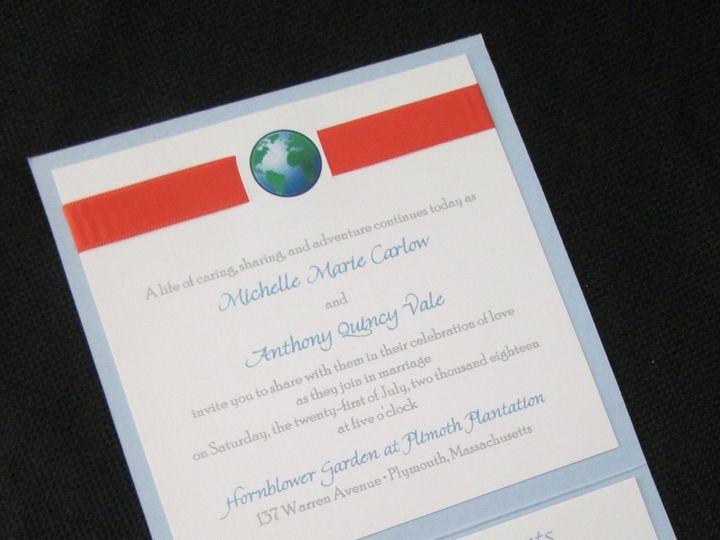 Tmx Carlow Pocket 7 21 18 51 108208 Quincy, MA wedding invitation