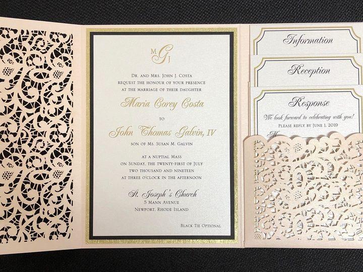 Tmx Costa Pocket 7 21 19 51 108208 1572546889 Quincy, MA wedding invitation