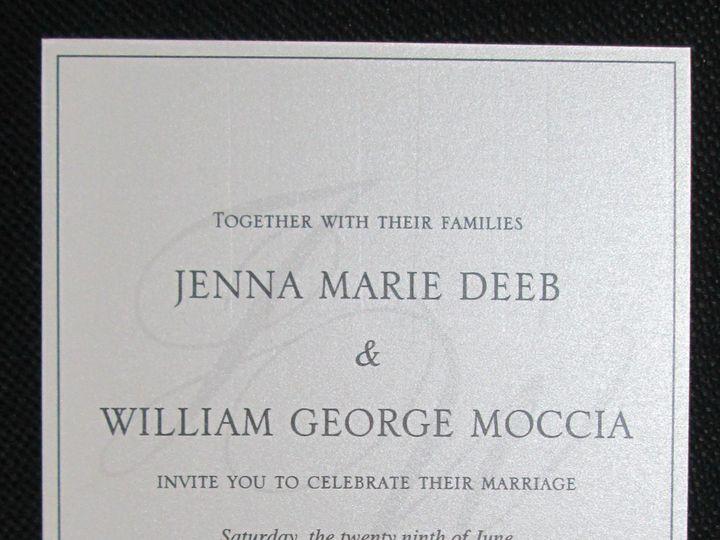 Tmx Deeb Single Layer 6 29 19 51 108208 1572545646 Quincy, MA wedding invitation