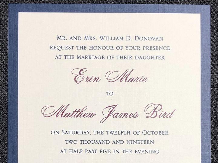 Tmx Donovan 2 Layer 10 12 19 51 108208 1572545609 Quincy, MA wedding invitation
