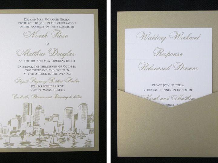 Tmx Emara Pocket Card 10 13 18 51 108208 Quincy, MA wedding invitation
