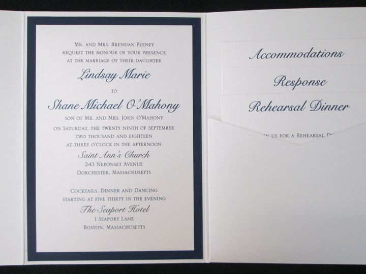 Tmx Feeney Pocket 9 29 18 51 108208 Quincy, MA wedding invitation