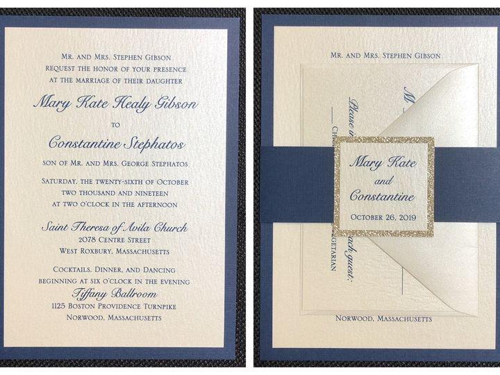 Tmx Gibson 2 Layer 10 26 19 51 108208 1572545606 Quincy, MA wedding invitation