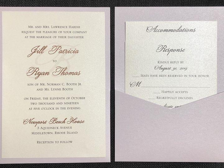 Tmx Hardie Pocket Card 10 11 19 51 108208 1572547130 Quincy, MA wedding invitation