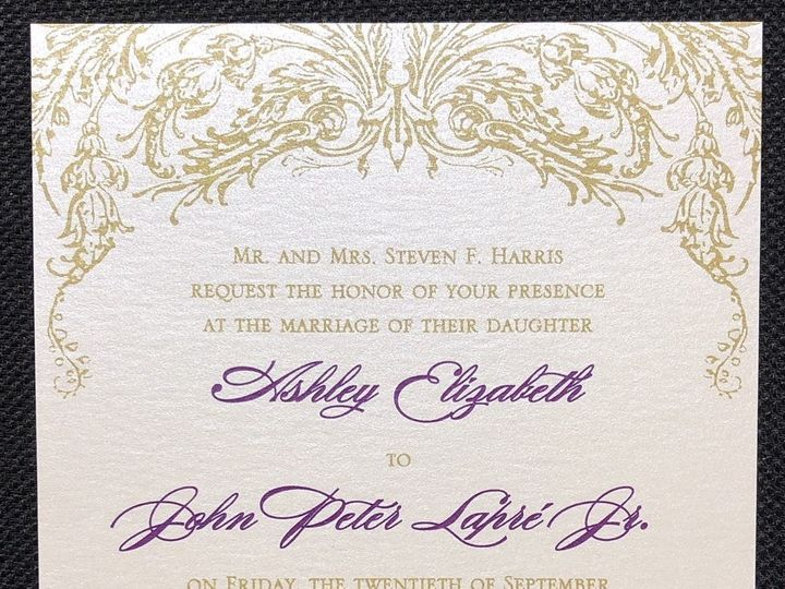 Tmx Harris Single Layer 9 20 19 51 108208 1572545617 Quincy, MA wedding invitation