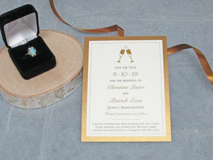 Tmx Img 3693 51 108208 158767275021221 Quincy, MA wedding invitation