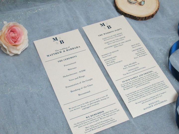 Tmx Img 3804 51 108208 158767276523884 Quincy, MA wedding invitation