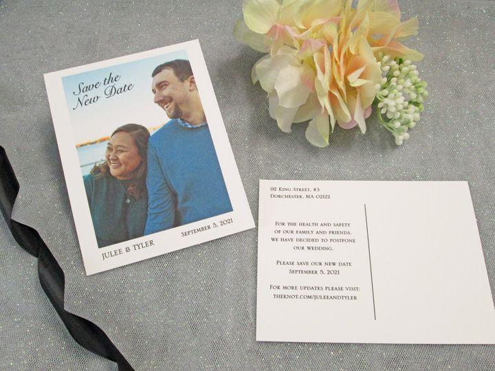 Tmx Img 3894 51 108208 159561874318216 Quincy, MA wedding invitation