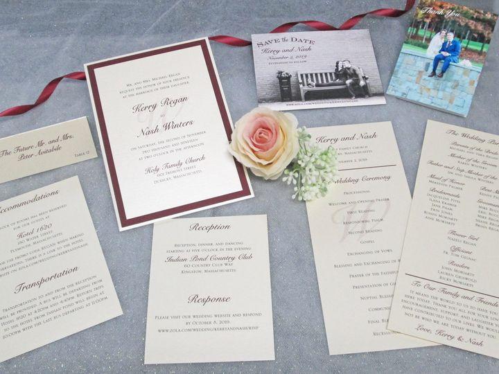 Tmx Img 3901 51 108208 159561874151113 Quincy, MA wedding invitation