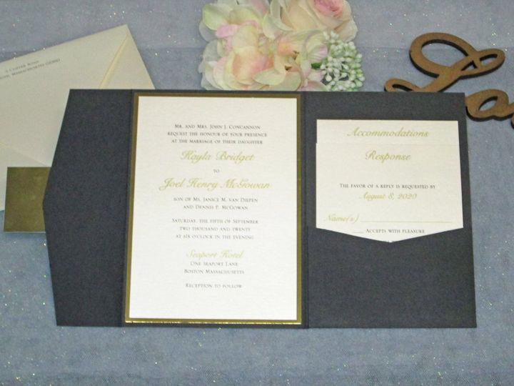 Tmx Img 3994 51 108208 159984084795626 Quincy, MA wedding invitation
