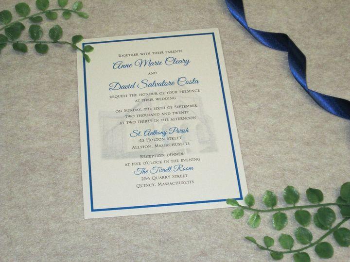 Tmx Img 4005 51 108208 159984084626994 Quincy, MA wedding invitation