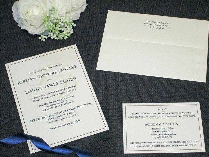 Tmx Img 4498 51 108208 161003859377537 Quincy, MA wedding invitation