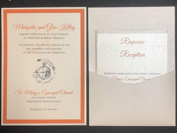 Tmx Kelly Pocket Card 7 27 19 51 108208 1572547131 Quincy, MA wedding invitation