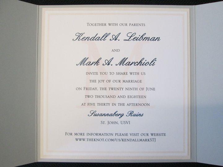 Tmx Leibman Pocket 6 29 18 51 108208 Quincy, MA wedding invitation