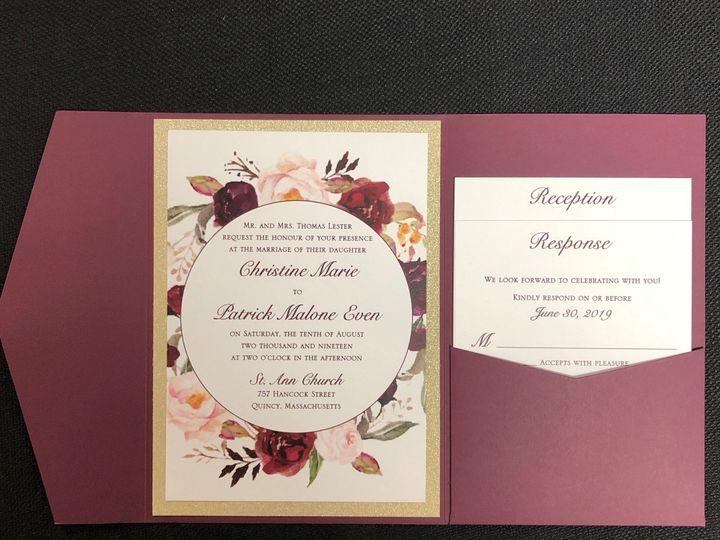 Tmx Lester Pocket 8 10 19 51 108208 1572546891 Quincy, MA wedding invitation