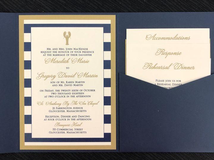 Tmx Mackenzie Pocket 2 51 108208 Quincy, MA wedding invitation