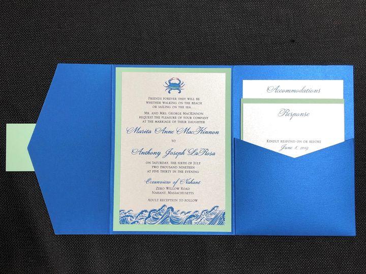 Tmx Mackinnon Pocket 7 6 19 51 108208 1572546889 Quincy, MA wedding invitation