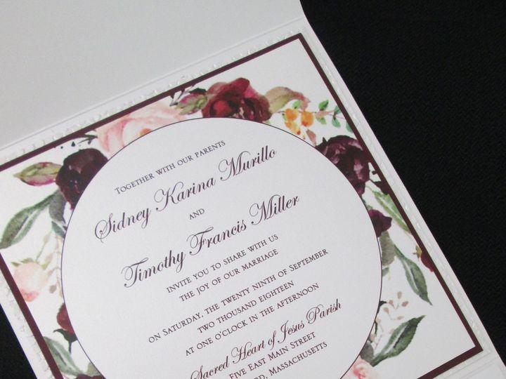 Tmx Murillo Pocket 9 29 18 51 108208 Quincy, MA wedding invitation