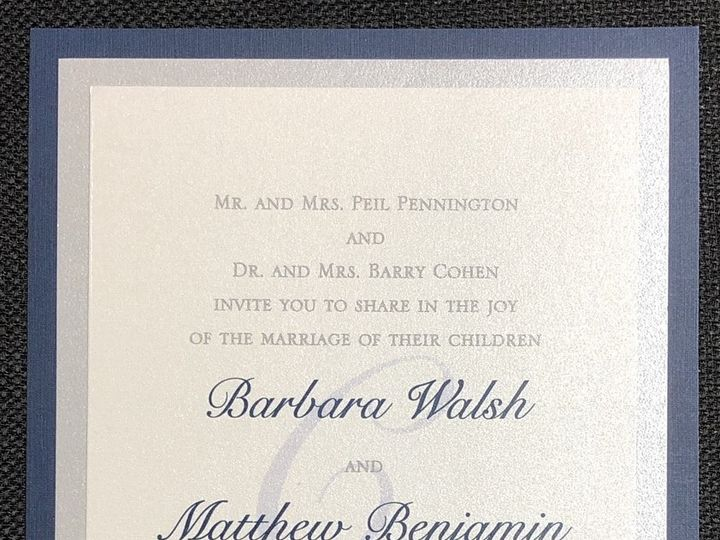 Tmx Pennington 3 Layer 10 5 19 51 108208 1572545609 Quincy, MA wedding invitation