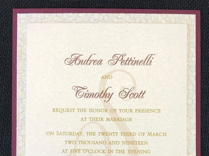 Tmx Pettinelli 3 Layer 3 23 19 51 108208 1572545649 Quincy, MA wedding invitation