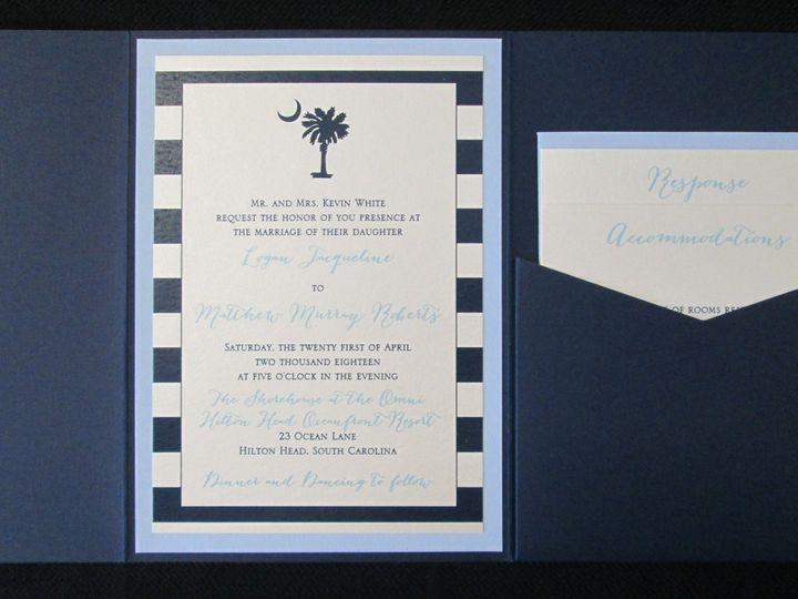 Tmx White Pocket 4 21 18 51 108208 Quincy, MA wedding invitation