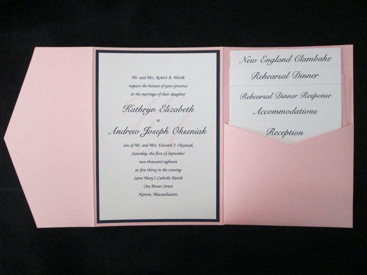 Tmx Worth Pocket 9 1 18 51 108208 Quincy, MA wedding invitation